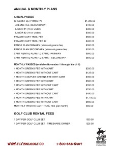 Golf Rates Flyer Pg2
