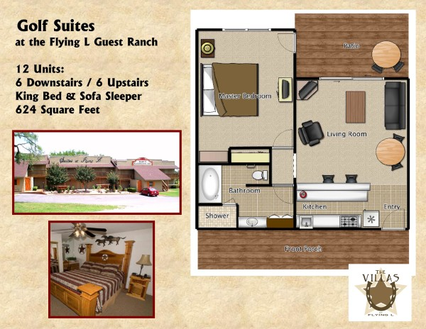 Golf Suites Floor Plan Flyer