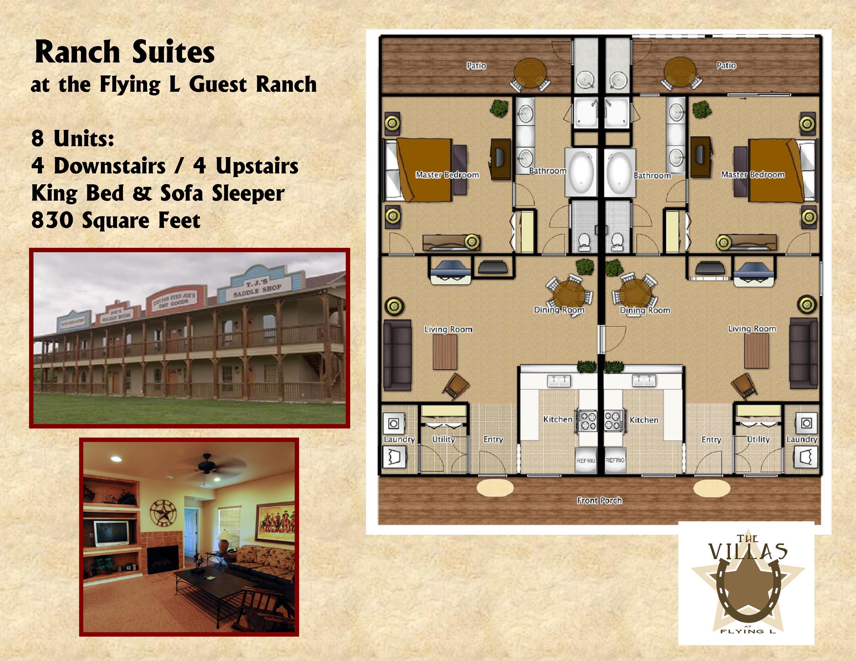 Ranch Suites Floor Plan Flyer