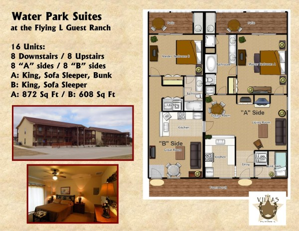 Water Park Suites Floor Plan Flyer