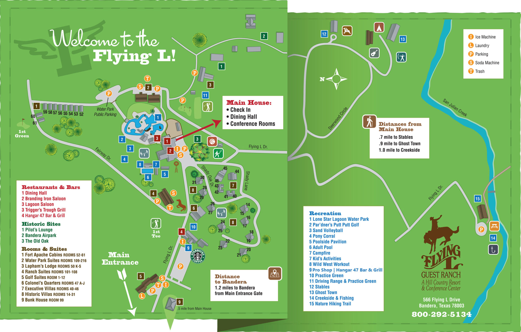 directions maps flying l ranch