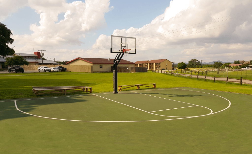 Basketball Goal with Shadow